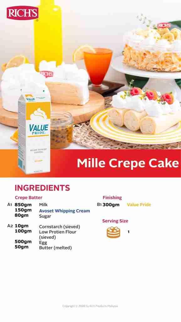 Mille Crepe Cake Recipe