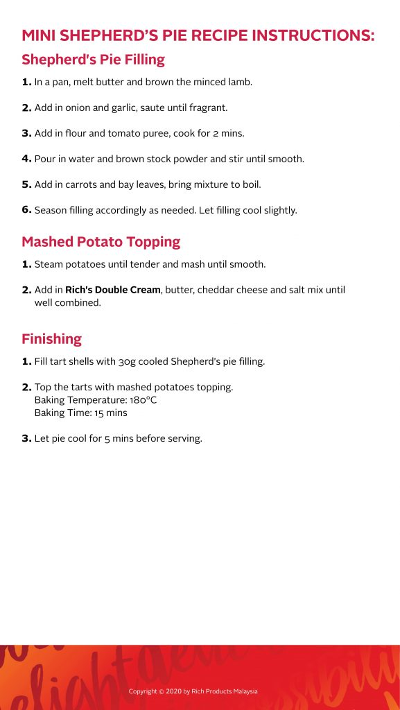 Mini Shepherd's Pie Recipe