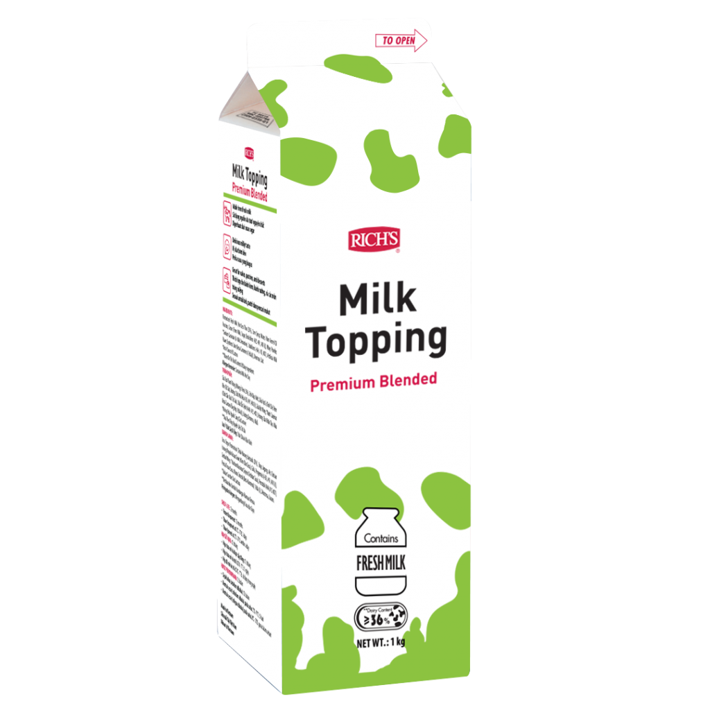 Rich's Milk Topping