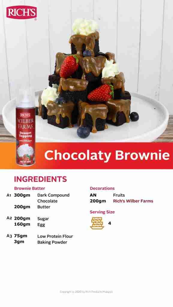 Chocolaty Brownie Recipe