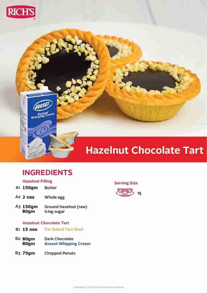 Hazelnut Chocolate Tart Recipe